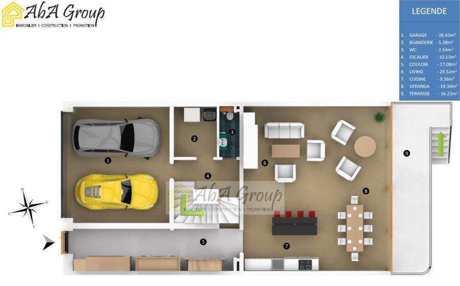 Maison individuelle à vendre 4 chambres à Ehlange