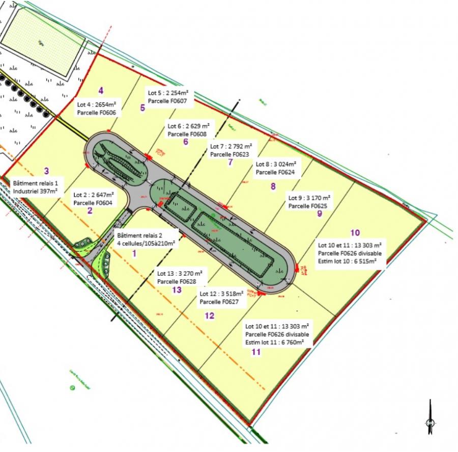 Terrain constructible à vendre à Thiaucourt-regnieville
