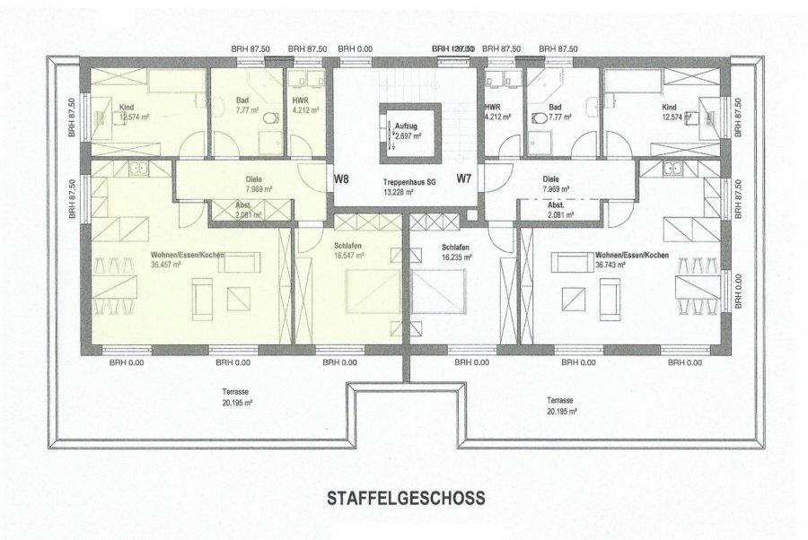 wohnung kaufen 3 zimmer 107.8 m² merzig foto 2