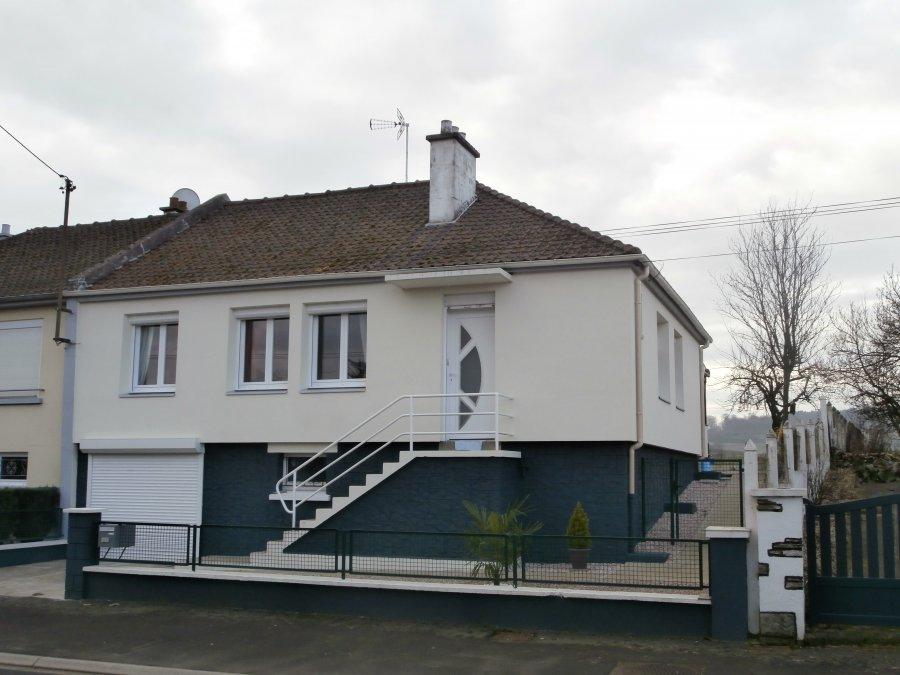 Maison individuelle en vente hesdin 80 m 164 000 for Acheter maison individuelle nord