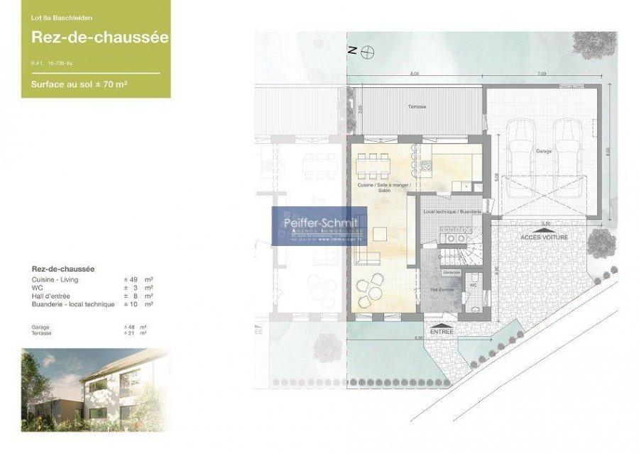 Maison jumelée à vendre 4 chambres à Baschleiden