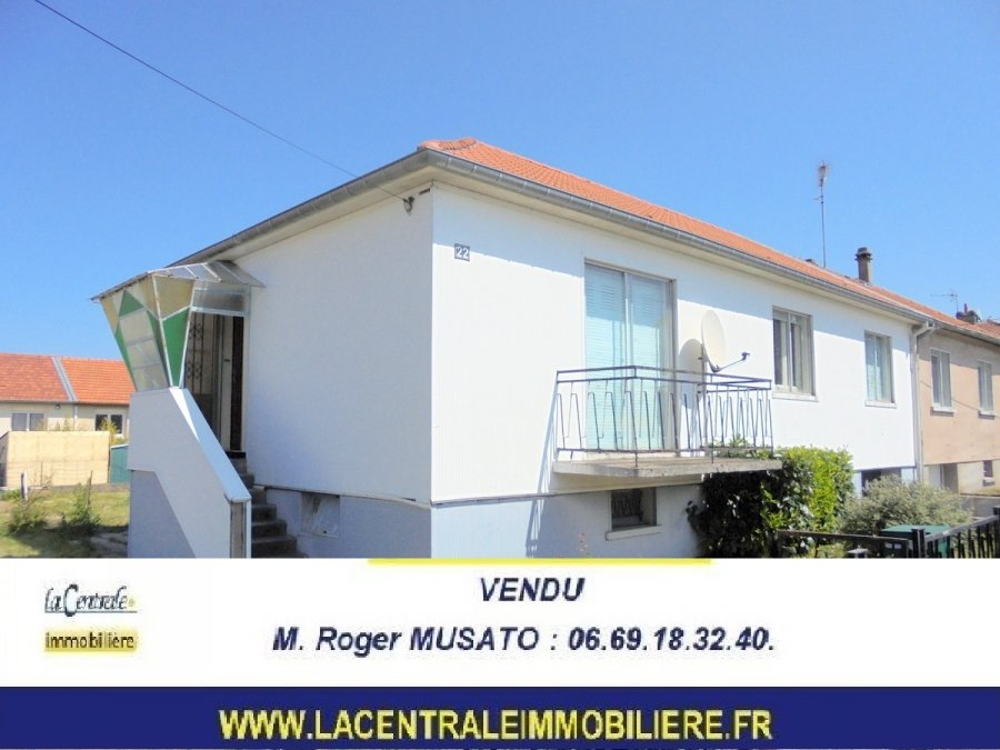 semi-detached house for buy 5 rooms 90 m² jarny photo 1