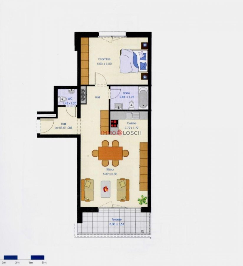 acheter appartement 1 chambre 72 m² esch-sur-alzette photo 2