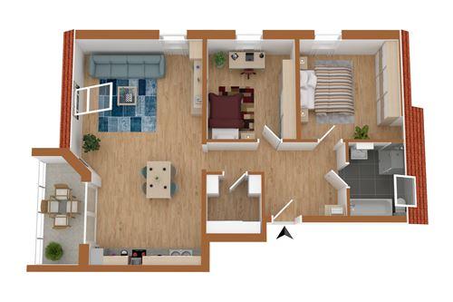 wohnung kaufen 3 zimmer 79 m² saarburg foto 2
