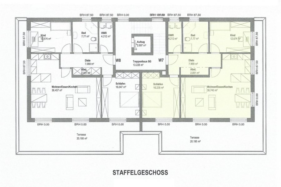 wohnung kaufen 3 zimmer 107.78 m² merzig foto 2
