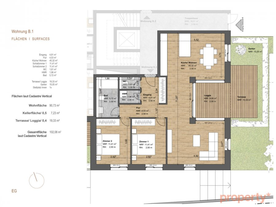 apartment block for buy 0 bedroom 156.14 to 168.76 m² michelau photo 7