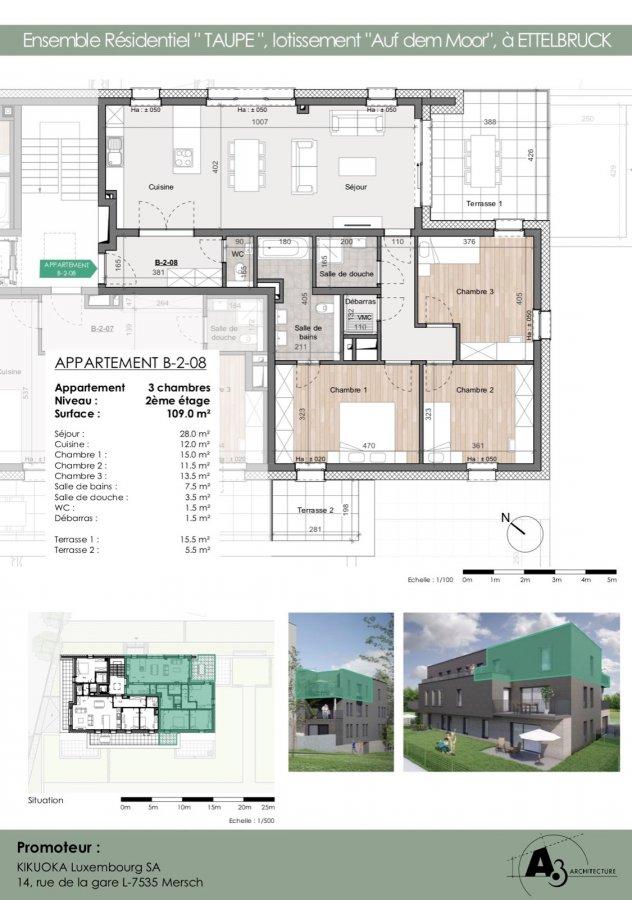 apartment for buy 3 bedrooms 109.41 m² ettelbruck photo 1