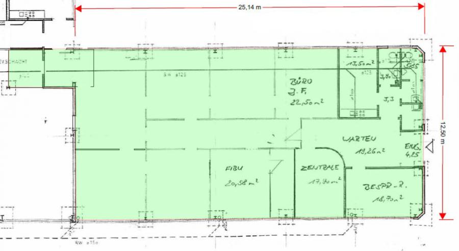 büro mieten 0 zimmer 320 m² perl foto 2