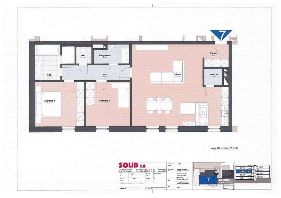 louer appartement 2 chambres 92.1 m² berchem photo 6