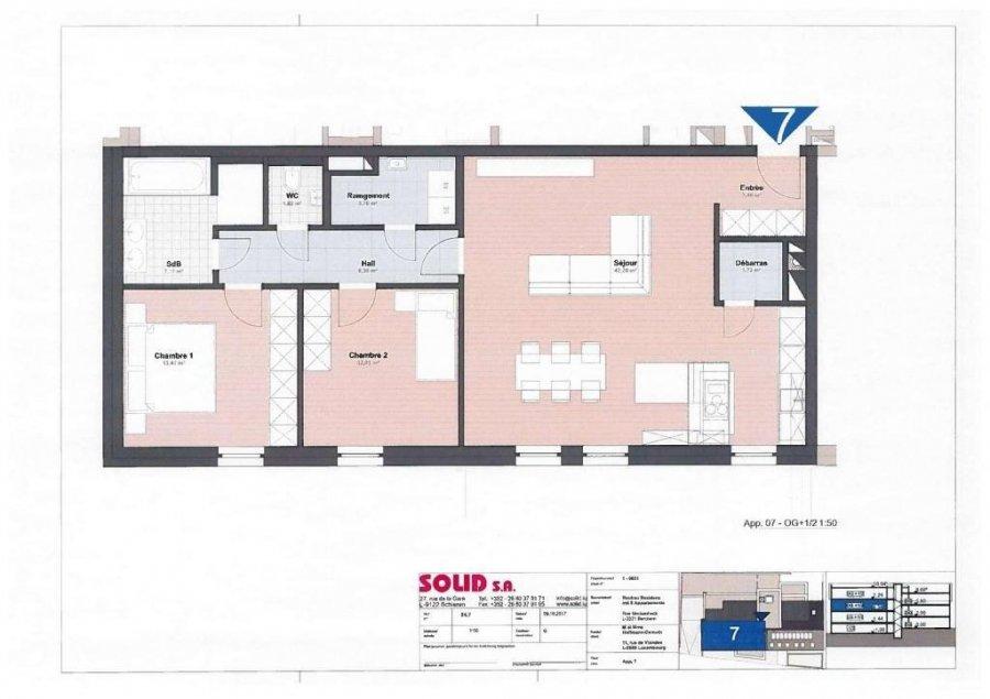 louer appartement 2 chambres 92.1 m² berchem photo 4