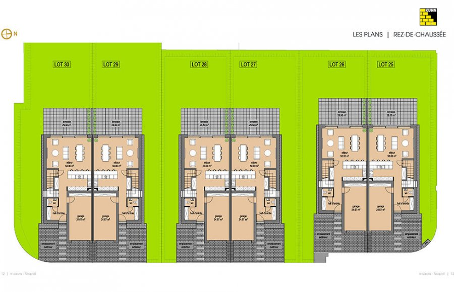 acheter maison jumelée 4 chambres 198.8 m² nospelt photo 4