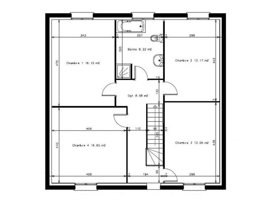 acheter maison 6 pièces 124 m² saint-avold photo 3