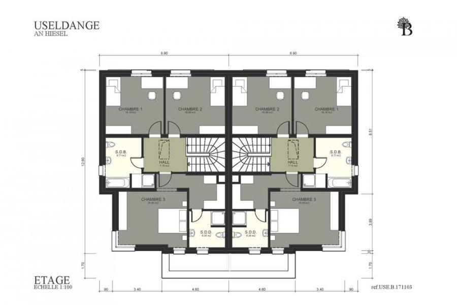 acheter maison jumelée 3 chambres 165 m² useldange photo 4
