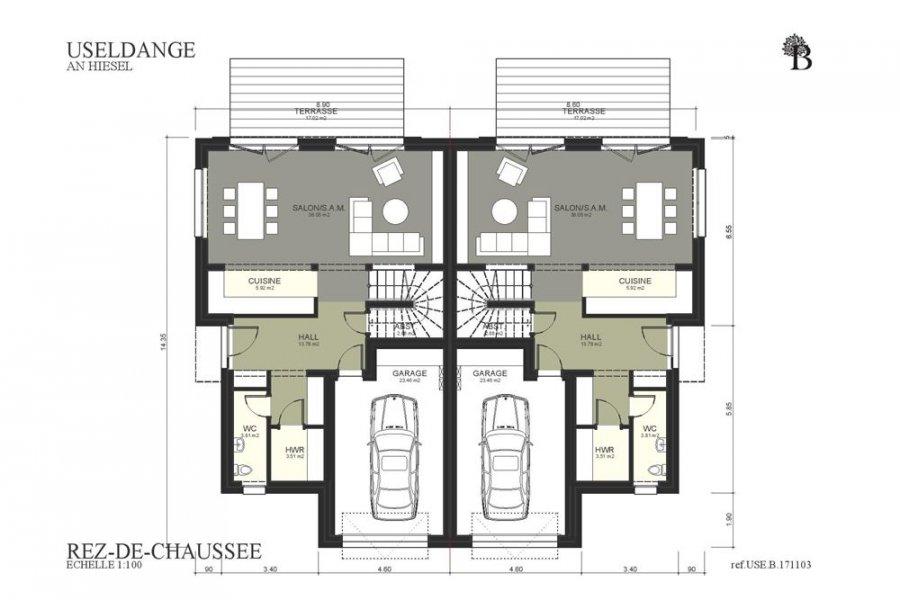 acheter maison jumelée 3 chambres 165 m² useldange photo 3
