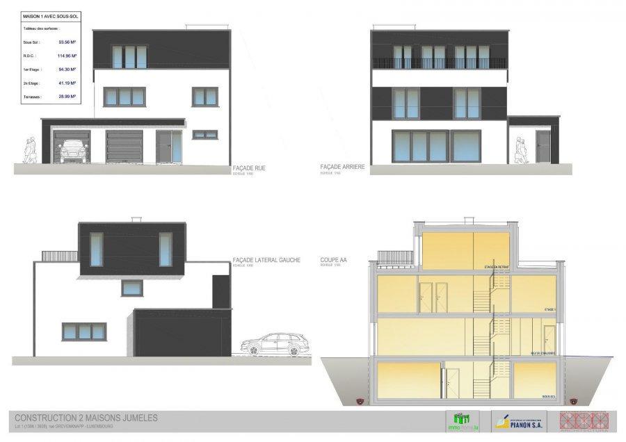 doppelhaushälfte kaufen 4 schlafzimmer 215 m² boevange-sur-attert foto 4