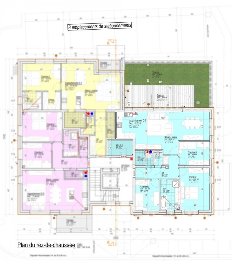 acheter appartement 3 chambres 95 m² crauthem photo 3