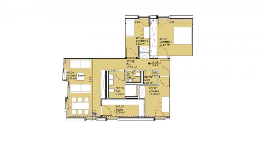 wohnung kaufen 3 schlafzimmer 93 m² echternach foto 2