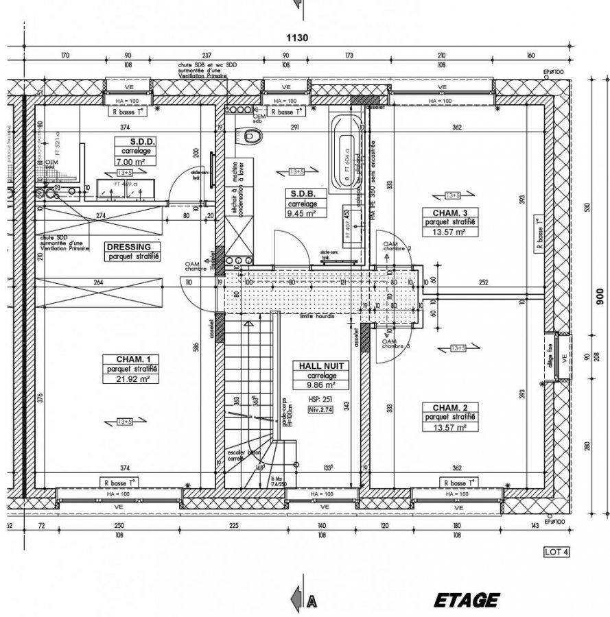 acheter maison individuelle 5 chambres 168 m² roodt (redange) photo 7