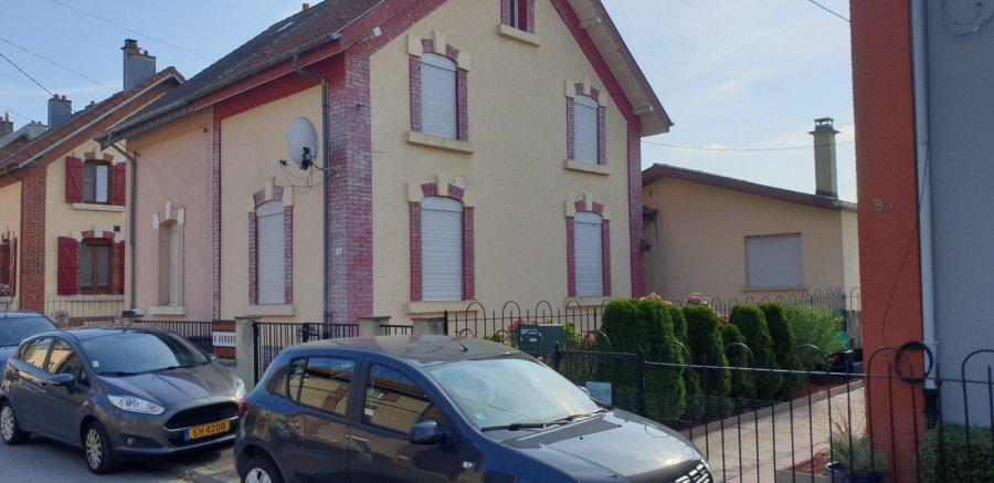 Maison mitoyenne à vendre F5 à Audun-le-Tiche