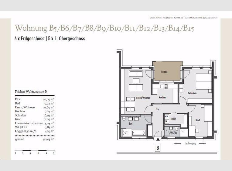 Wohnung zum Kauf 5 Zimmer in Echternacherbrück - Ref. 2091723
