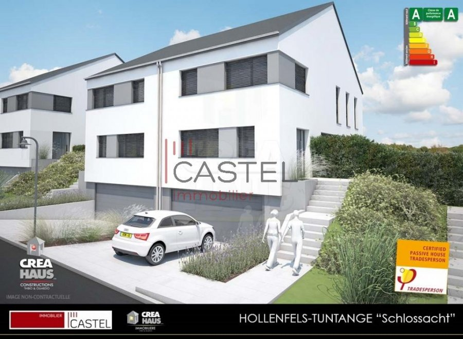 acheter maison jumelée 3 chambres 133.88 m² tuntange photo 2