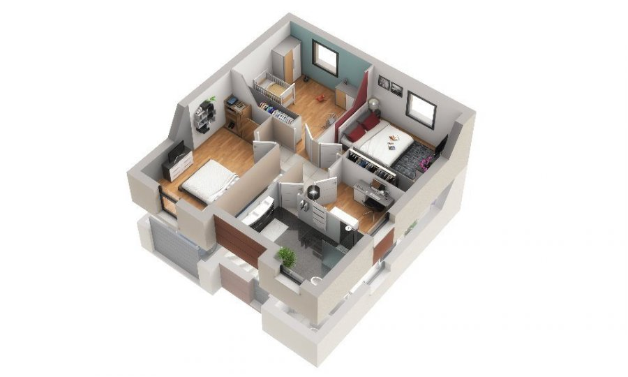 acheter maison 5 pièces 101 m² sainte-marie-aux-chênes photo 7