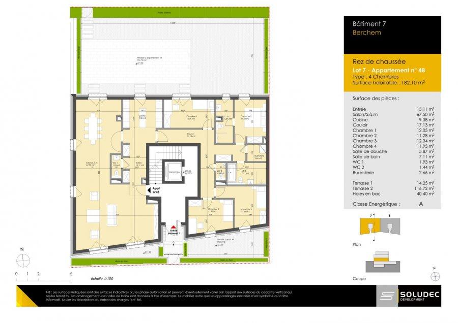 apartment for buy 4 bedrooms 183.62 m² berchem photo 1