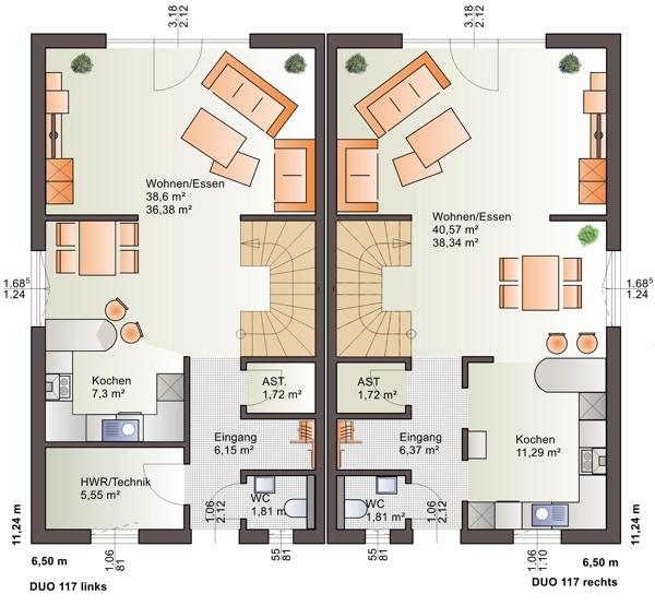 acheter maison jumelée 3 chambres 117 m² weicherdange photo 3