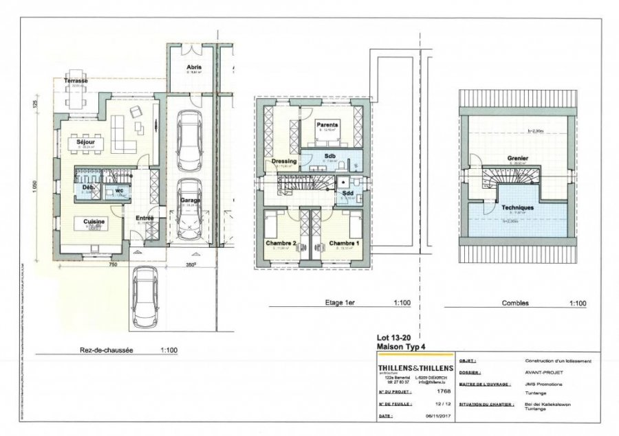 acheter maison jumelée 3 chambres 275 m² tuntange photo 2