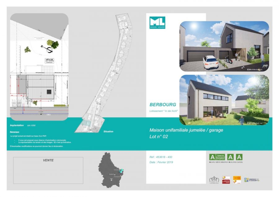 acheter maison 3 chambres 141 m² berbourg photo 4