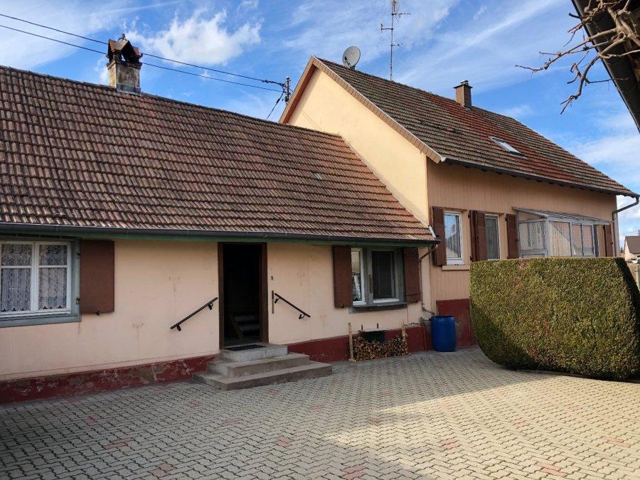 Maison jumelée à vendre F8 à Plobsheim