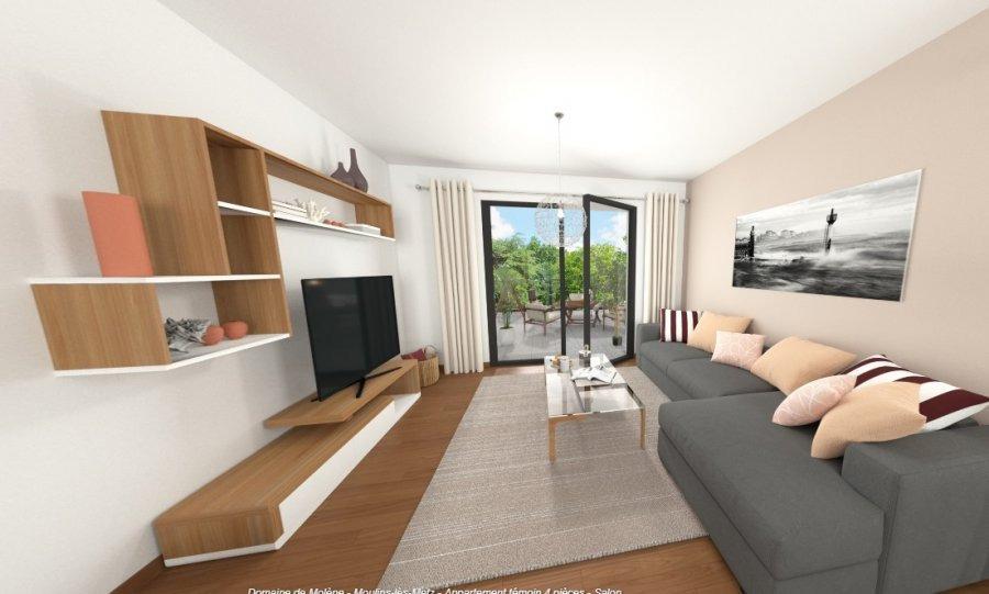 acheter appartement 3 pièces 42.87 m² moulins-lès-metz photo 2