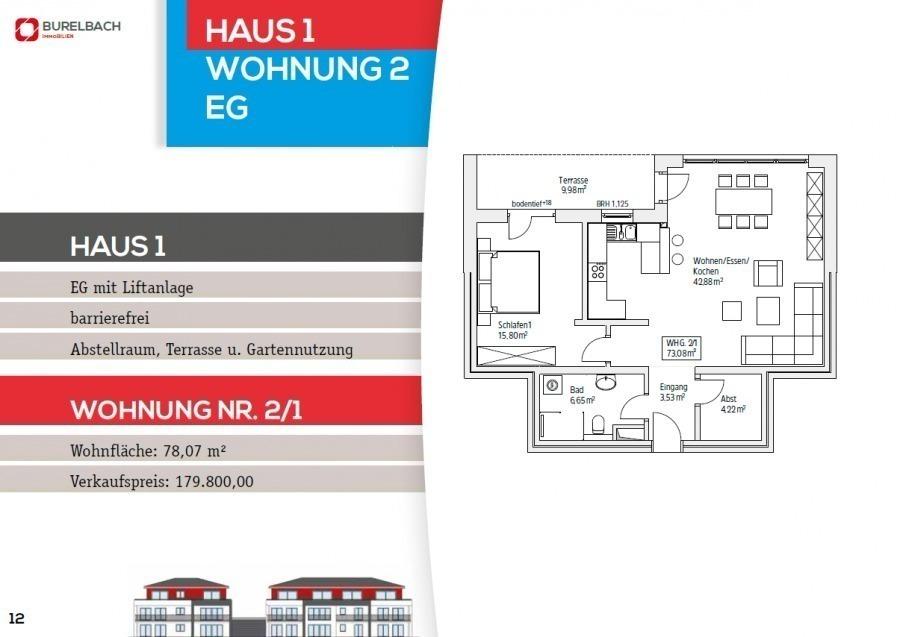 wohnung kaufen 4 zimmer 78.07 m² mettendorf foto 3