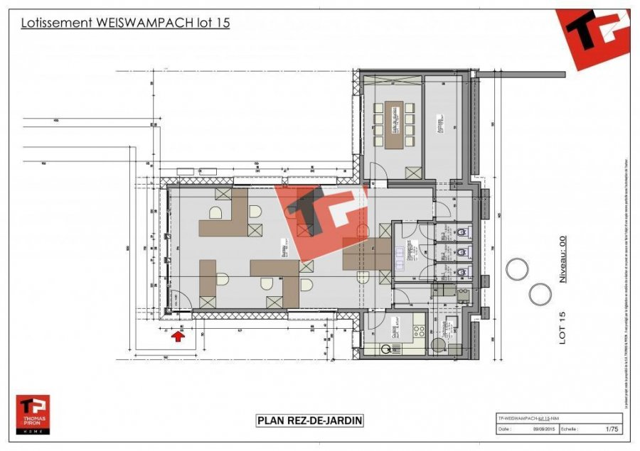 office for buy 0 bedroom 101.95 m² weiswampach photo 5