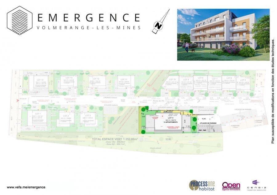 acheter appartement 4 pièces 85.5 m² volmerange-les-mines photo 3