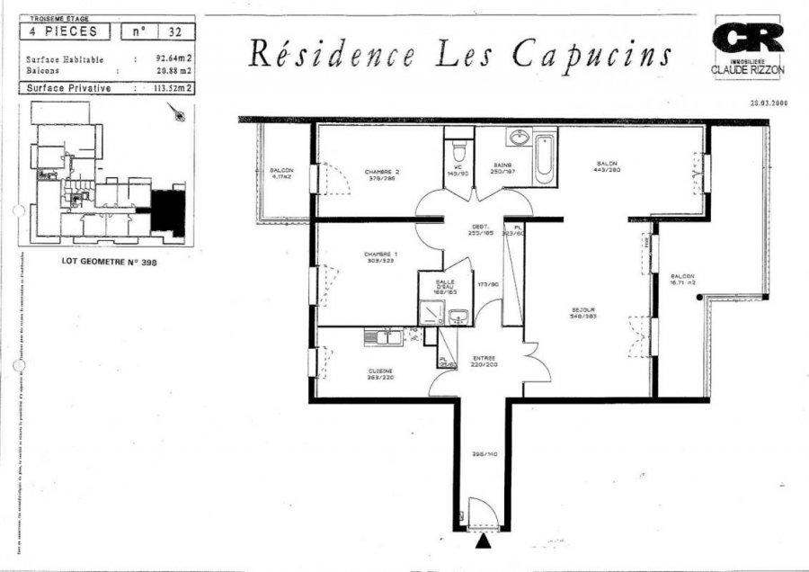 louer appartement 4 pièces 92 m² nancy photo 7