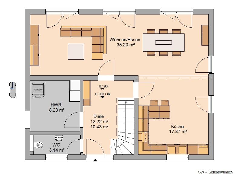 acheter maison 4 pièces 128 m² mandern photo 3