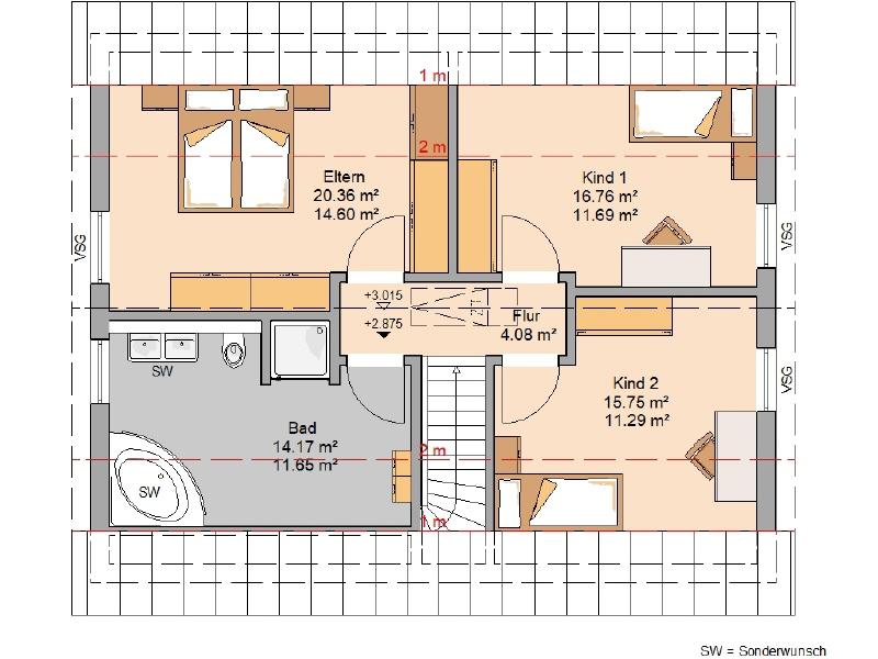 acheter maison 4 pièces 128 m² mandern photo 4