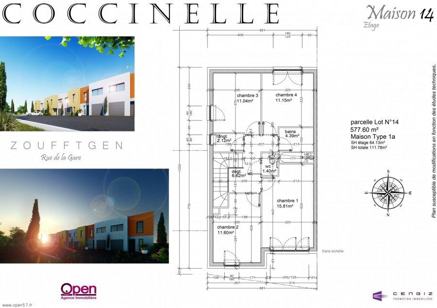 acheter maison 5 pièces 112.08 m² zoufftgen photo 7