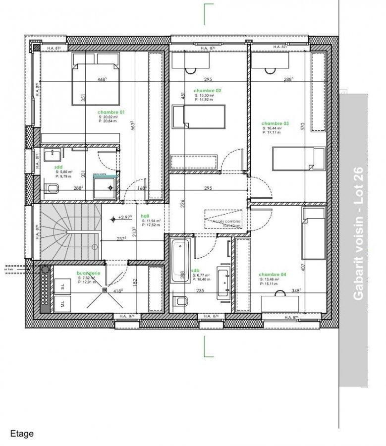 acheter maison jumelée 4 chambres 172 m² fingig photo 4