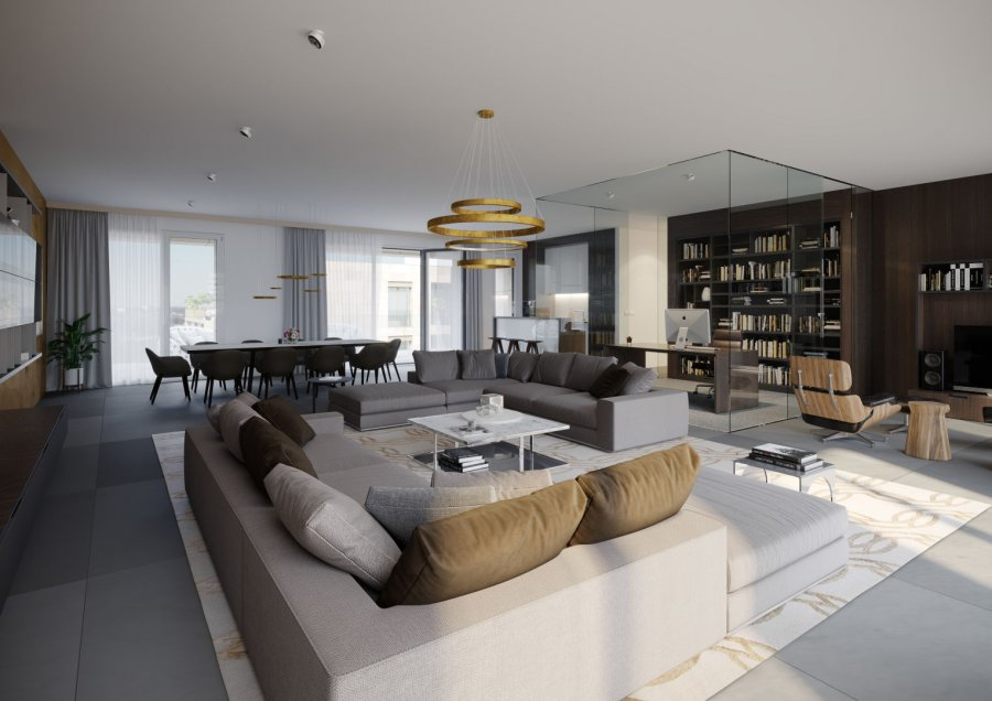 penthouse for buy 3 bedrooms 116 m² luxembourg photo 1
