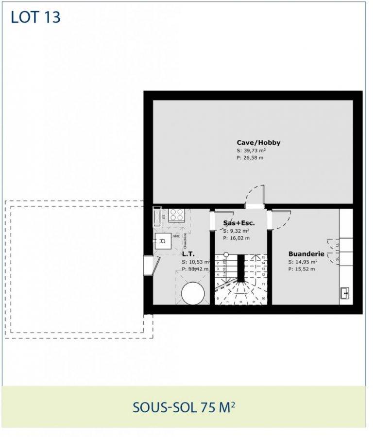 acheter maison jumelée 3 chambres 142 m² ell photo 4