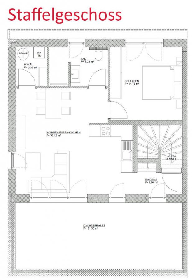 wohnung kaufen 2 zimmer 76.12 m² bitburg foto 4