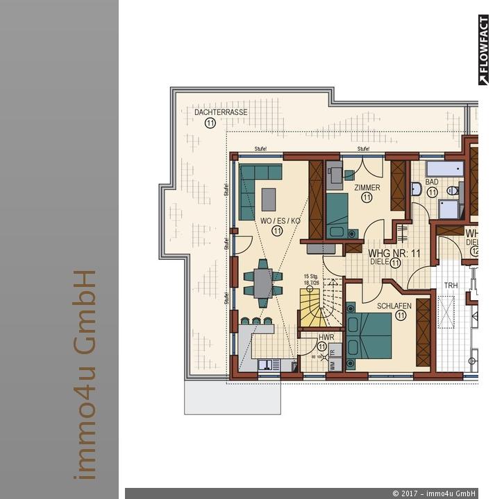 acheter duplex 3 pièces 133.67 m² konz photo 1