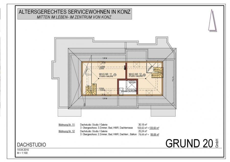 acheter duplex 3 pièces 133.67 m² konz photo 6