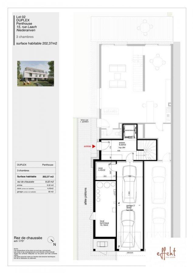 penthouse for buy 3 bedrooms 202.37 m² niederanven photo 7