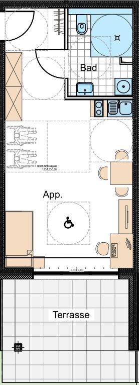 wohnung kaufen 1 zimmer 49 m² nittel foto 4