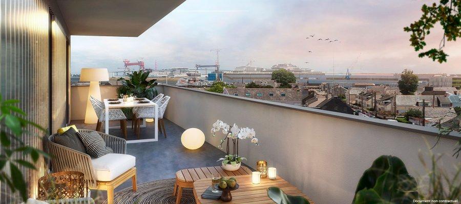 acheter appartement 2 pièces 42 m² saint-nazaire photo 2