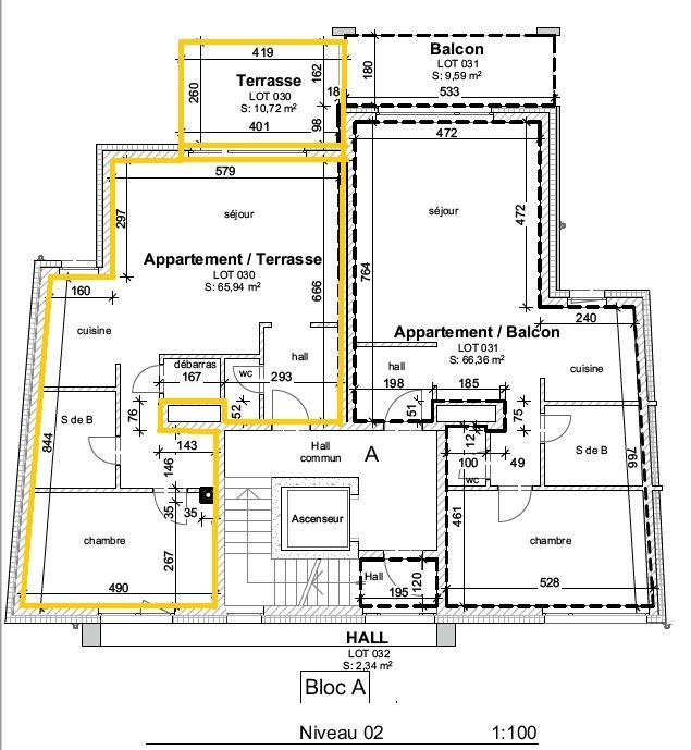 acheter appartement 1 chambre 65.94 m² wiltz photo 1