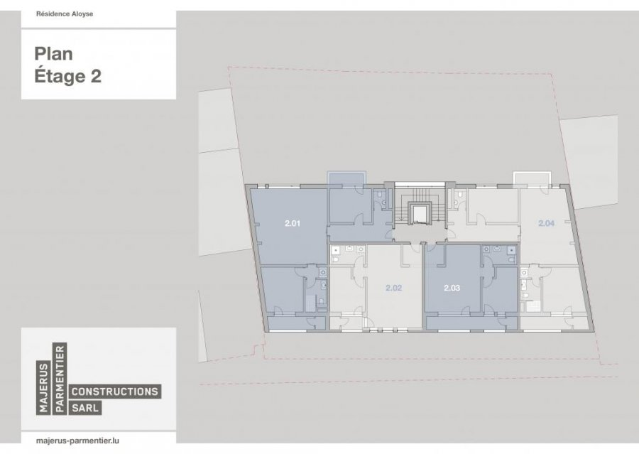 acheter appartement 1 chambre 67.1 m² clervaux photo 3